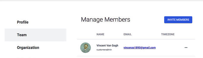Manage Members